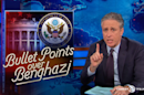 Jon Stewart Exposes Fox News' Hypocrisy over Benghazi