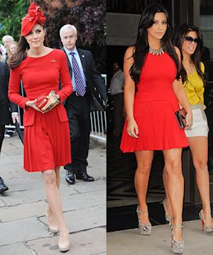 Who Wore It Best: Kate Middleton or Kim Kardashian?