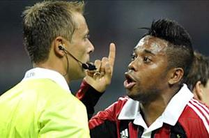 Robinho defends under-pressure AC Milan boss Allegri