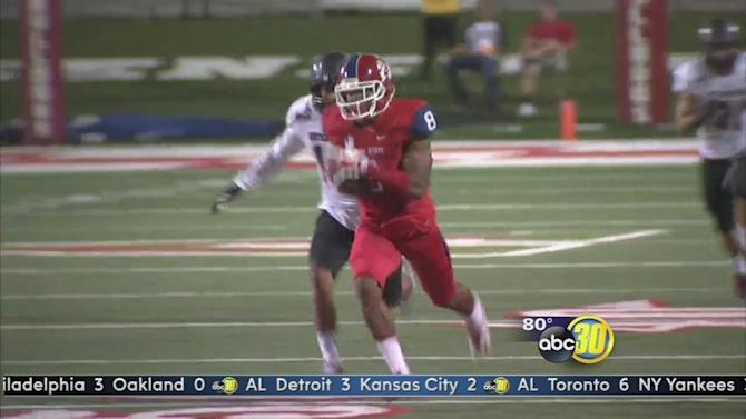Fresno State gets first win, tops Southern Utah 56-16