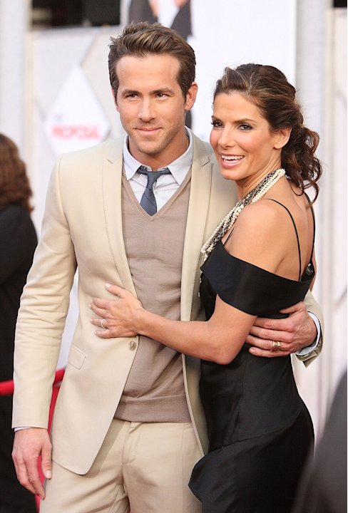 The Proposal LA Premiere 2009 Ryan Reynolds Sandra Bullock