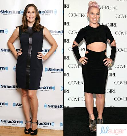 How Jennifer Garner, Gwen Stefani, Pink and Other Celeb Moms Stay Fit