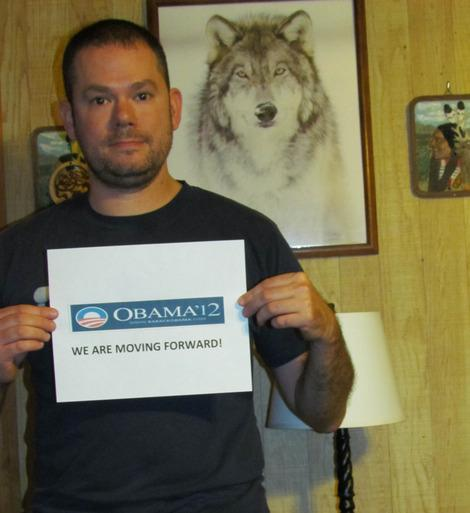 Voters' Picks: I'm Ready to Continue Moving Forward; My Vote Goes to Obama
