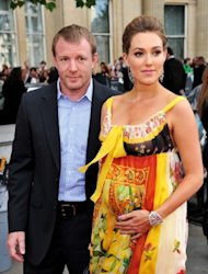 "Director Guy Ritchie and Jacqui Ainsley attend the world premiere of ""Harry Potter and The Deathly Hallows - Part 2"" at Trafalgar Square, London, on July 7, 2011 -- Getty Premium"