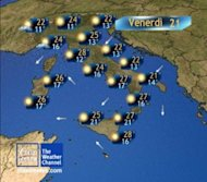 Meteo venerd: la giornata migliore della settimana!