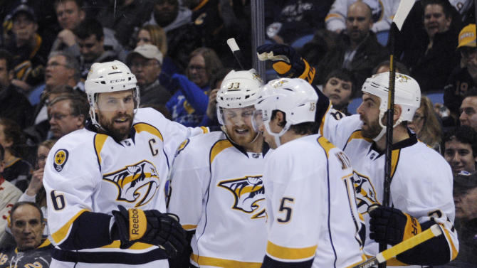 Predators too much for Sabres 4-1