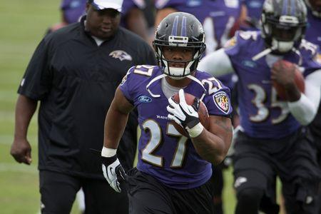NFL: Baltimore Ravens-Training Camp