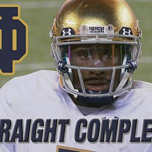 Notre Dame's Everett Golson Completes 25 Straight Passes