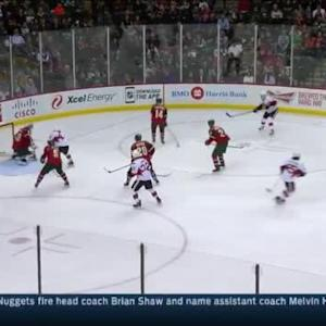 Devan Dubnyk Save on Curtis Lazar (03:05/2nd)