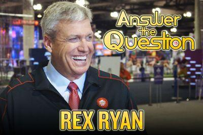 Rex Ryan goes on Super Bowl game show, knows his food