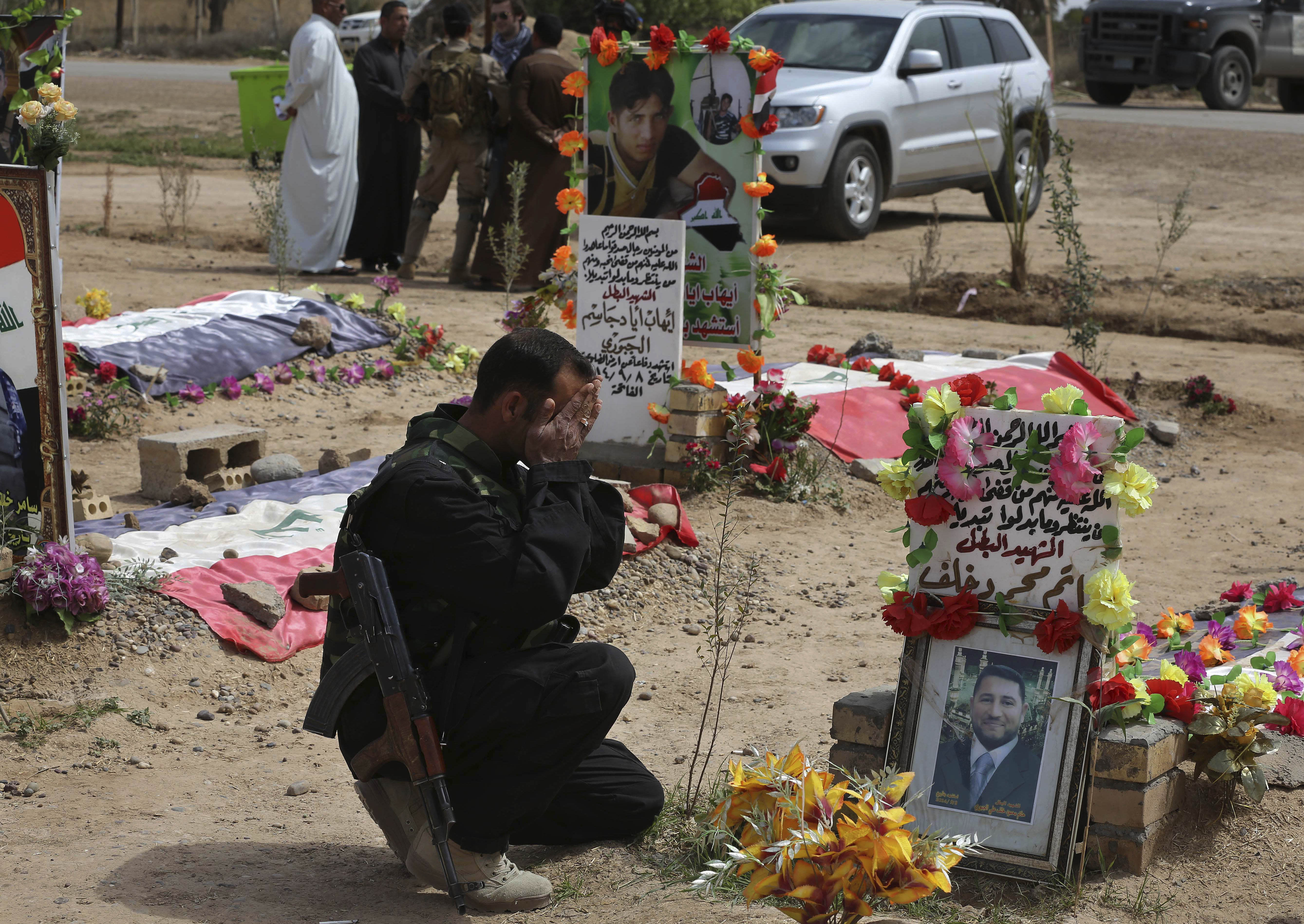 Iraqi Sunni tribe wages costly battle against IS group