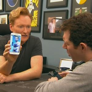 Conan Tries Dating App Grindr