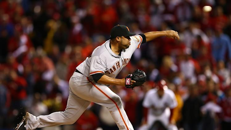 San Francisco Giants v St Louis Cardinals - Game Three