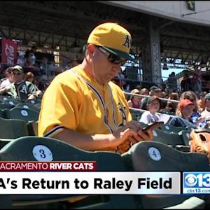 Oakland A's Fans Come Out To See New Triple-A Affiliate Come To Sacramento After Switch