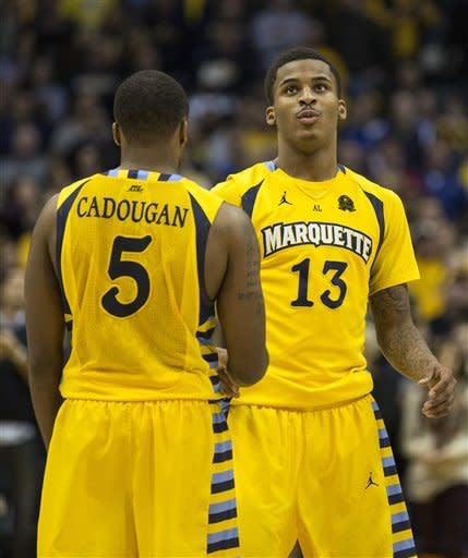 Marquette beats No. 15 Georgetown 49-48