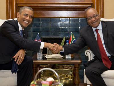 Obama: Mandela Beacon for the Power of Principle
