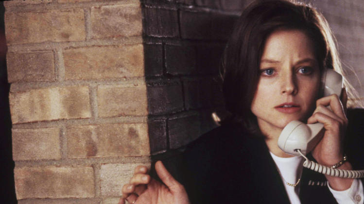 "FILE - In this publicity photo provided by Orion Pictures, Jodie Foster is shown in a scene from the film ""The Silence of the Lambs,""1991.  (AP Photo/Orion Pictures, Ken Regan, File)"