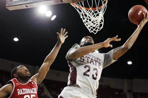 Mississippi State beats Arkansas 79-59