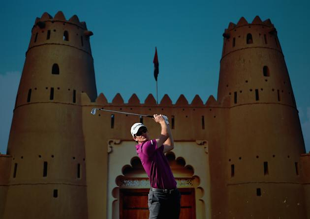 Abu Dhabi HSBC Golf Championship - Day One