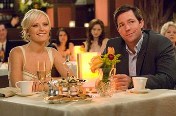 Edward Burns and Malin Akerman in 20th Century Fox's 27 Dresses