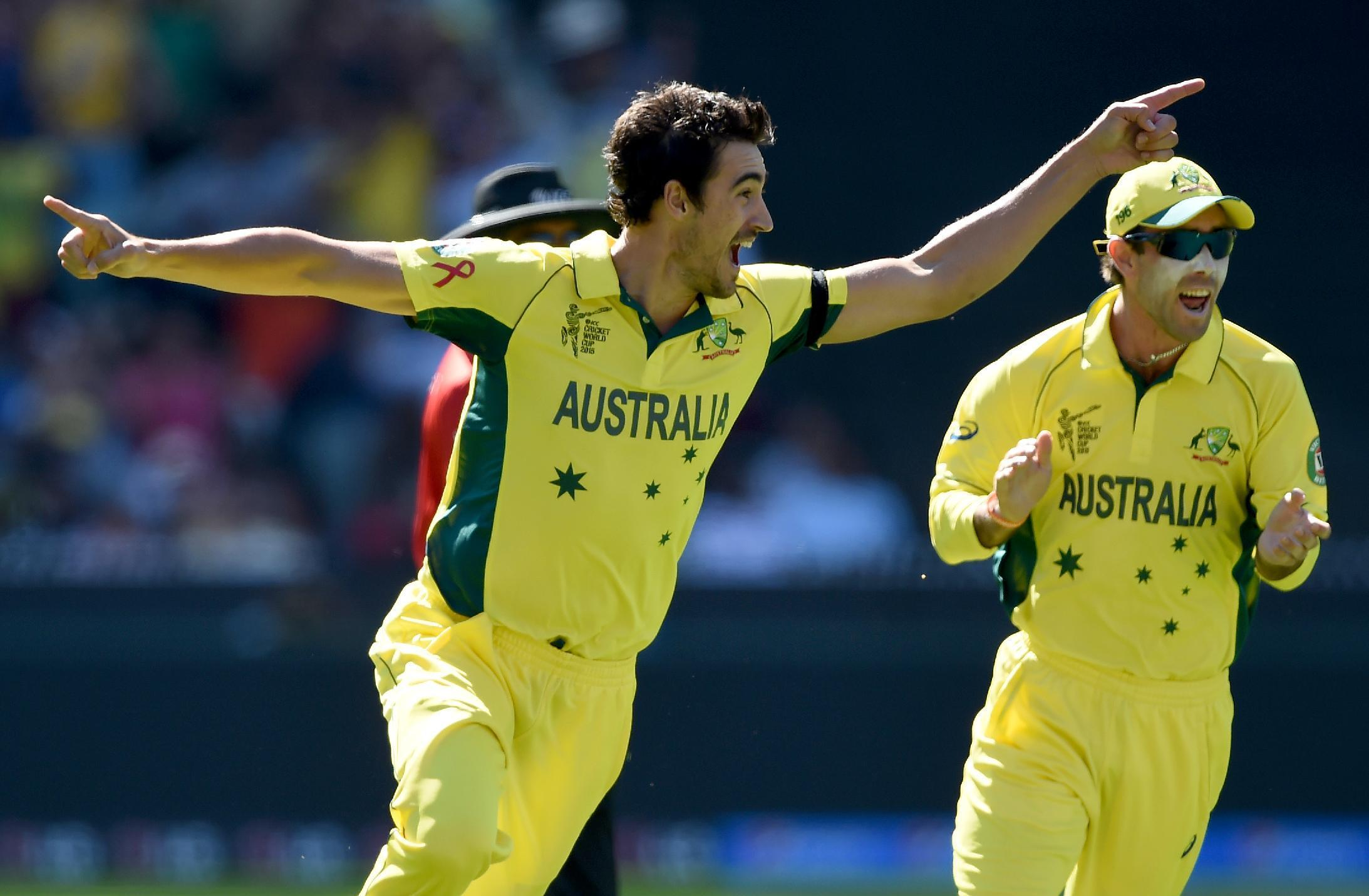 Starc's perseverance pays off with Cricket World Cup honors