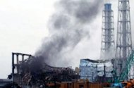 "Black smoke rises from reactor number three at the Fukushima nuclear power plant in March 2011. The Fukushima nuclear accident was a man-made disaster caused by Japan's culture of ""reflexive obedience"" and not just the tsunami that hit the plant, according to a damning parliamentary report"