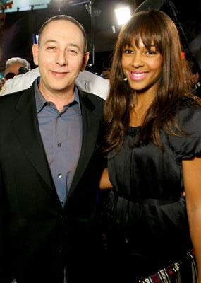 Paul Reubens and Marsha Thomason at the Los Angeles premiere of 20th Century Fox's Reno 911: Miami
