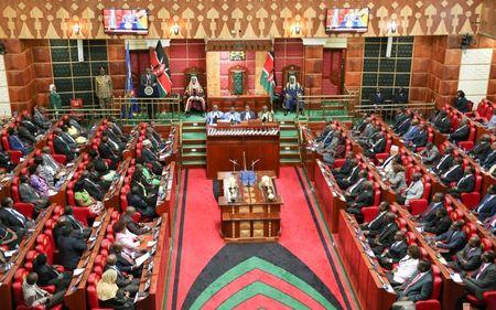 Angry lawmakers force delay in vote on Kenyan security law