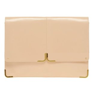 Leather Portfolio Clutch ASOS: Fashion Trend