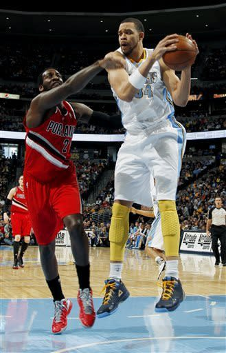Nuggets set NBA franchise mark with 55th win