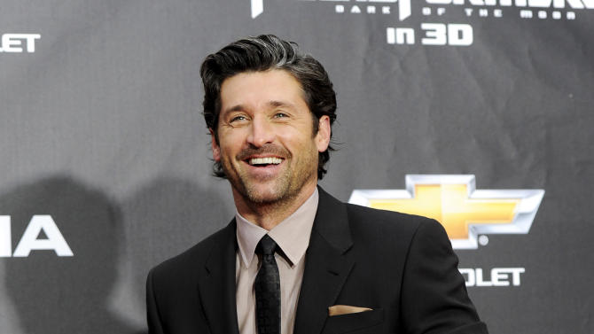 "FILE - In this June 28, 2011 file photo, actor Patrick Dempsey attends the ""Transformers: Dark Of The Moon'"" premiere in Times Square in New York. Late Thursday night Jan. 3, 2013, Dempsey announced that his company, Global Baristas LLC, made the winning bid for Tully's Coffee.  (AP Photo/Evan Agostini, File)"