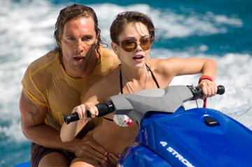 Matthew McConaughey and Alexis Dziena in Warner Bros. Pictures' Fool's Gold