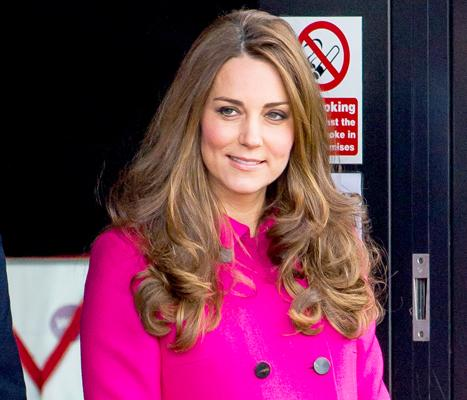 Kate Middleton Takes Prince George to Swim Lessons as World Awaits Royal Baby