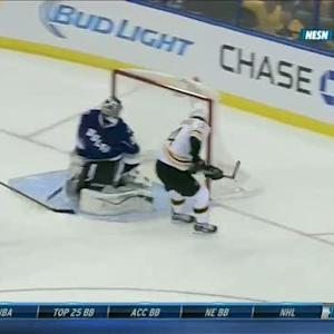 Soderberg sneaks it five-hole on breakaway
