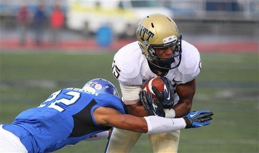 Pitt snaps 2-game skid with 20-6 win at Buffalo