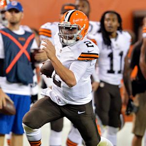 Cleveland Browns quarterback Johnny Manziel Preseason Week 4 highlights