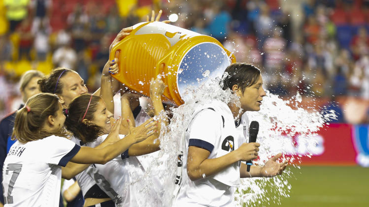 Soccer: Women's Friendly-Korea at USA
