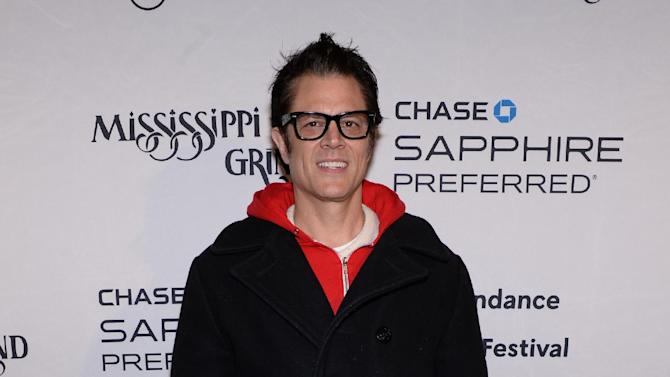 "Actor Johnny Knoxville attends the ""Mississippi Grind"" cast party hosted by Chase Sapphire Preferred during the Sundance Film Festival on Saturday, Jan. 24, 2015 in Park City, Utah. (Photo by Evan Agostini/Invision for Chase Sapphire Preferred/AP Images)"
