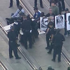 Raw: Police Brutality Protested in NY, Oakland