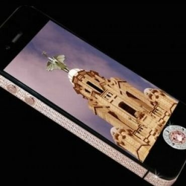 iPhone 4S Ini Dilapisi Emas dan Berlian