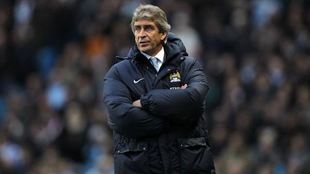 Man City boss Manuel Pellegrini does not fear Barcelona