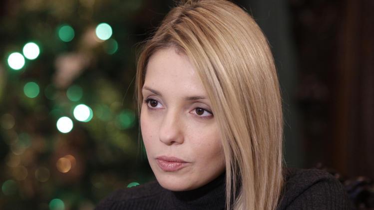 AP Interview: Tymoshenko daughter urges sanctions
