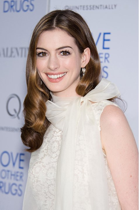 Love and Other Drugs 2010 NYC Screening Anne Hathaway