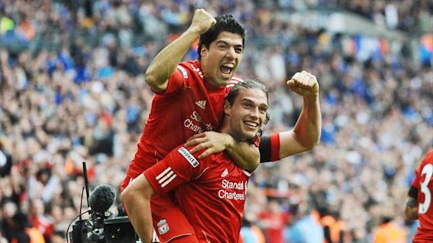 Luis Suarez and Andy Carroll (Liverpool)