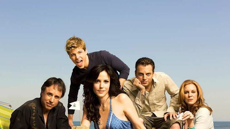 The cast of Weeds. Weeds