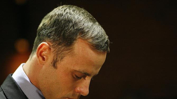 Video footage shows Pistorius re-enacting killing