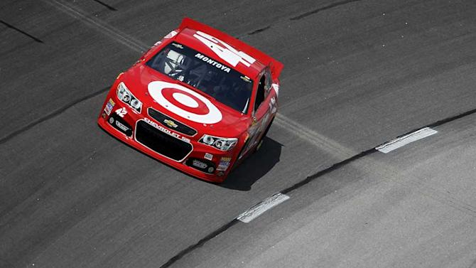 Montoya sets pace in final practice