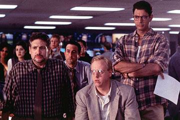 Harvey Fierstein and Jeff Goldblum in 20th Century Fox's Independence Day