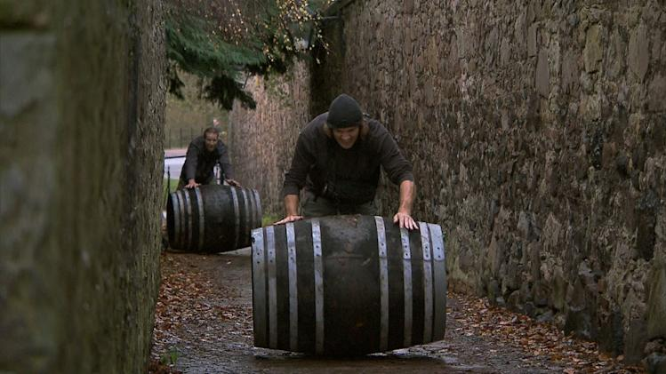 """The Amazing Race"" -- ""Working Our Barrels Off"""