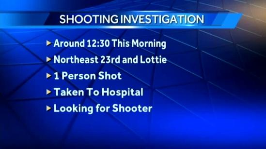 Police investigate overnight shooting